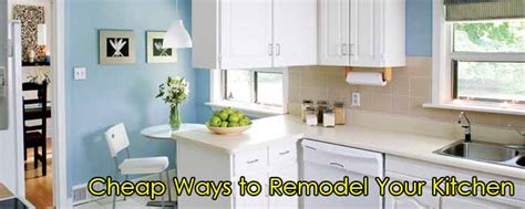 redesign your kitchen cheap ways to remodel your kitchen edconstable com