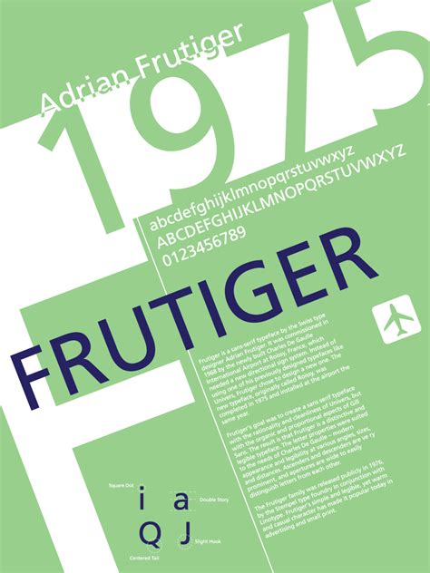 typography facts font history posters frutiger by lludu on deviantart