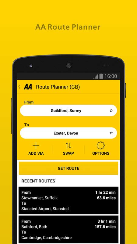 aa app for android the aa free android app the free the aa app to your android phone or tablet