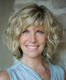 curly bob hairstyles for 50 short hairstyles over 50 wavy bob hairstyle trendy