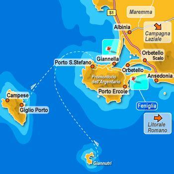porto s stefano mappa l isola giglio un paradiso naturale e da oggi anche
