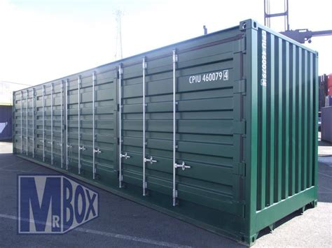 40 Open Side Shipping Container Price by 40ft Open Sided Container Mr Box