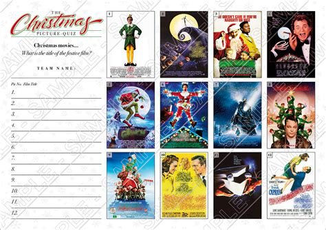 Christmas Film Quiz Round | christmas quiz 04 with christmas movies picture round