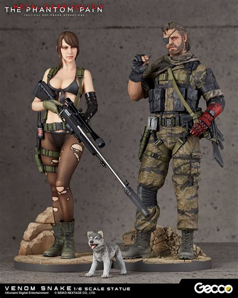First4figures Mgs Solid Snake Statue Review Gecco Metal Gear Solid V Venom Snake 1 6 Pvc