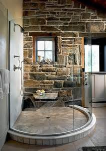 lodge bathroom shower