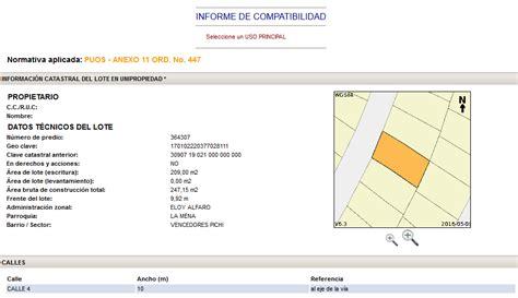 tabla de compatibilidad de usos de suelo consultar compatibilidad de uso de suelo municipio de quito