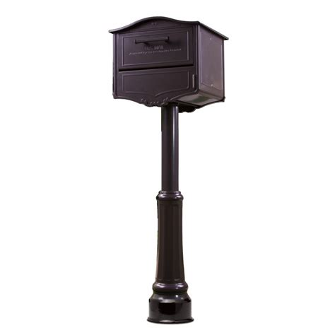 Kitchen Cabinet Knob architectural mailboxes 6700 geneva locking post mount mailbox
