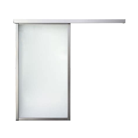 lite interior door shop reliabilt 1 lite laminated barn interior door common