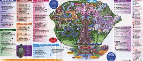 theme park brochures walt disney world magic kingdom