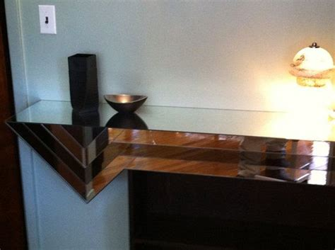 Mirrored Floating Shelf by Wall Mount Mirror Console Shelf