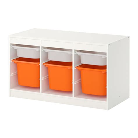children s storage units combinations ikea trofast storage combination with boxes white orange