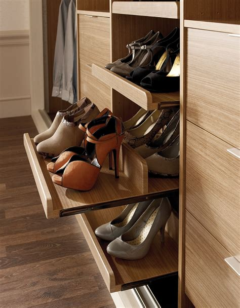 pull out shoe rack finishing touches hepplewhite fitted bedrooms home offices