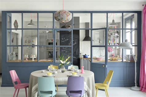 dividere soggiorno  cucina  una vetrata casafacile