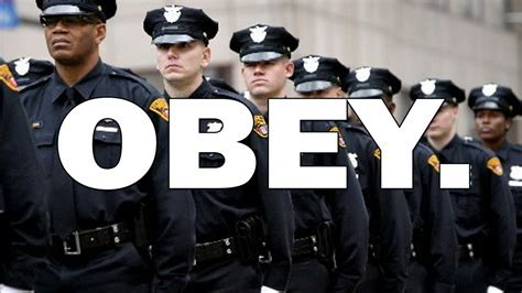american police american police quot obey or die quot youtube