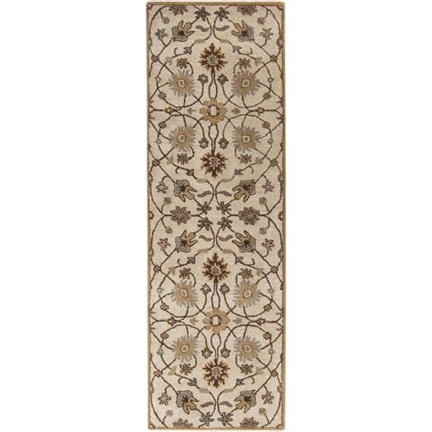 artistic weavers elam chocolate 3 ft x 12 ft indoor rug