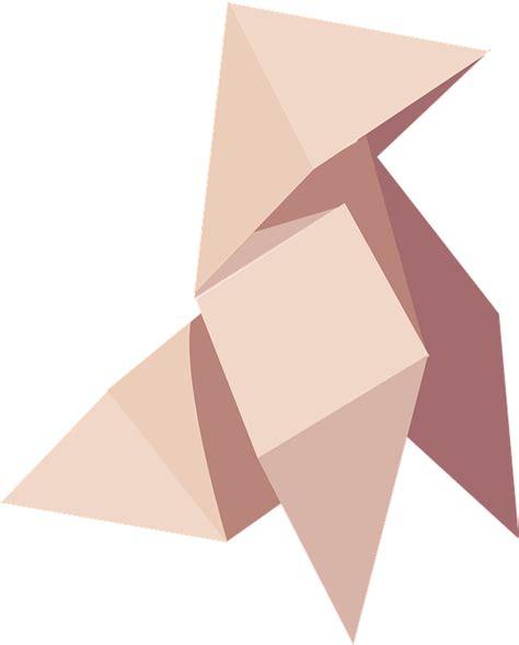 Paper Folding Shape - image vectorielle gratuite origami papier pliage