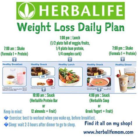 Herbalife Detox Diet Plan by Diet Menu Menu Herbalife Diet