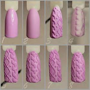 15 easy step by step winter nail art tutorials for