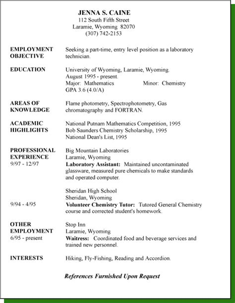 Resume Sle Style Types Of Resume 17 Resume 28 Images 10 Best Template Collection Resume Styles Writing Resume
