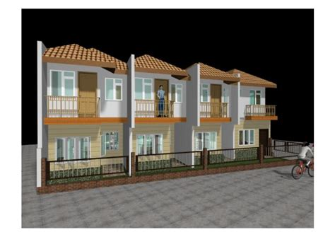 2 story apartment design vernie s home building ideas vallido 2 storey 4 door apartment by don bergonia at