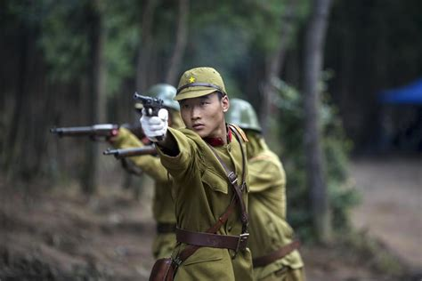 film chinese japanese war behind the scenes of a chinese war drama 1 chinadaily com cn