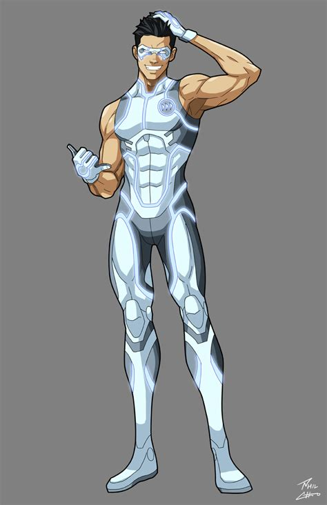 Harpoon White Gotham Blue Emperor character designs phil cho