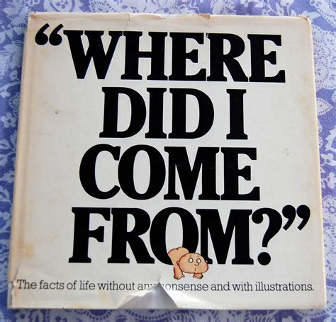 where did i come from vintage books my kid quot where did i come from quot