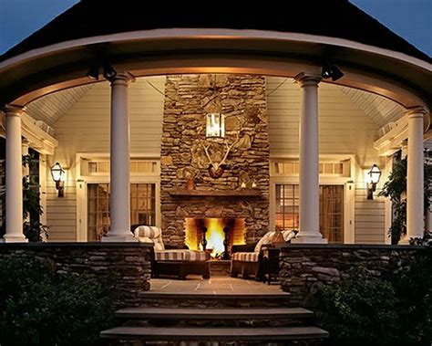 outdoor rooms and outdoor fireplaces fall s best outdoor outdoor rooms with fireplaces 6355