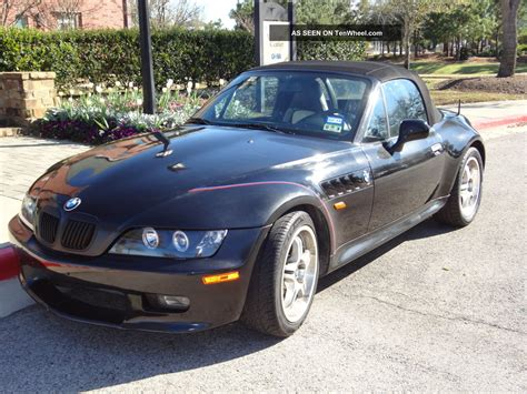 bmw  black manual  speed cyl   roadster convertible