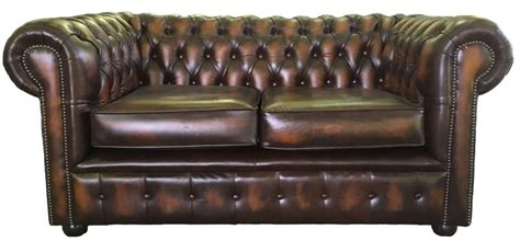 antique chesterfield sofa ebay chesterfield leather two seater sofa antique brown ebay