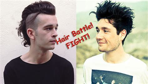how to get matthew healys haircut the 1975 s matty healy on the truth of 3 chords and hair