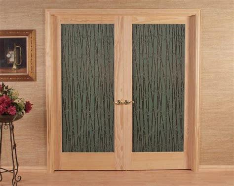 bamboo doors interior bamboo glass door home interior doors
