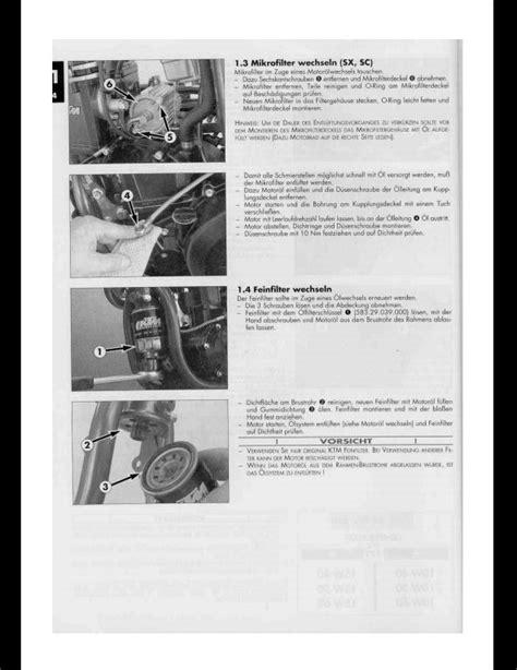 Ktm 400 620 Lc4 Sport Motocycle Engine Service Repair