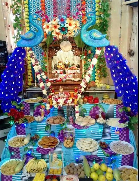 decoration ideas  krishna janmashtami decoration