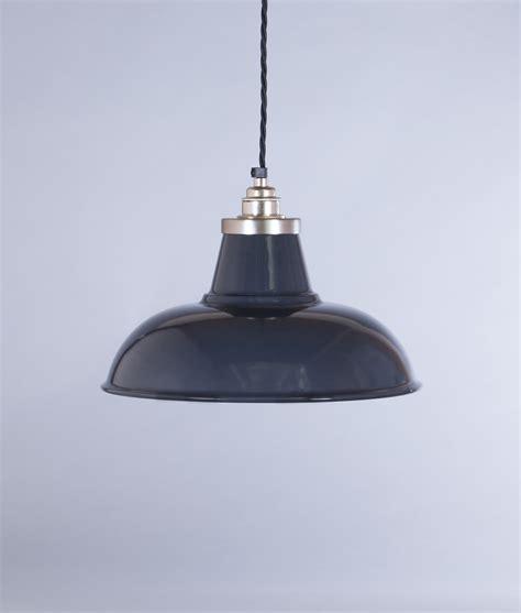 Grey Pendant Light Grey Enamel Pendant Light Shade Morley Industrial Style