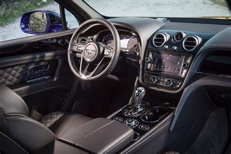 Bentley Suv Interior by 2016 Bentley Bentayga Review Gtspirit