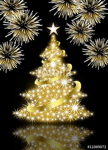 black and yellow christmas tree quot gold tree on black background quot stock photo and royalty free images on fotolia