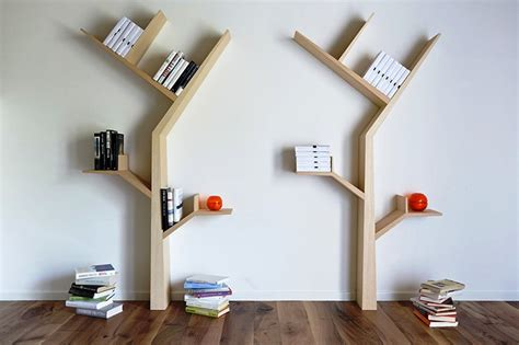 desain gerobak kreatif rak buku desain unik kreatif interior design ideas