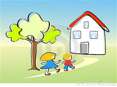 I Go From House To House Time To Go Clipart Clipart Suggest