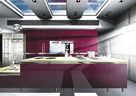 purple kitchen designs pictures inspiration