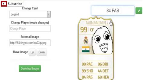 how to make your own ultimate team card fifa 15 ultimate team card generator