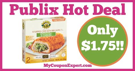 barber food printable coupons hot deal alert barber foods stuffed chicken breasts only