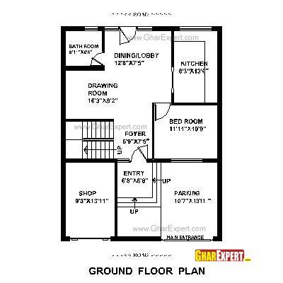 home design for 30 x 30 plot house plan for 30 feet by 40 feet plot plot size 133