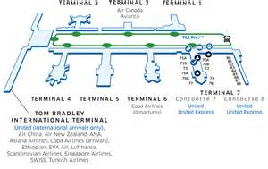 Delta Domestic Baggage lax airport map united airlines