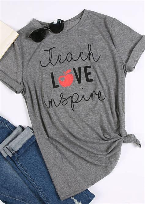 teach inspire t shirt fairyseason
