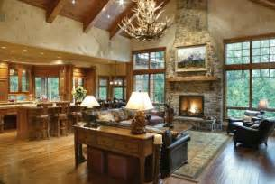 Open Kitchen Great Room Floor Plans 5 Ways To Winterize Your Home House Plans And More