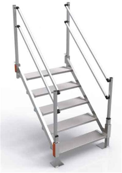 How To Make Deck Stairs by Aluminum Stairs For Sale Portable Metal Stairs Express