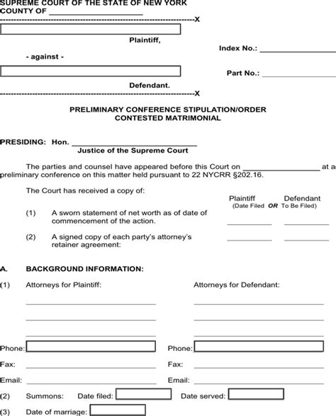 Download New York Separation Agreement Template For Free Page 7 Formtemplate Non Disclosure Agreement Template New York