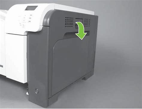 hp color laserjet cp3525 replacing the secondary transfer roller hp color laserjet