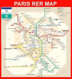 Paris Metro Map English by Pics Photos Paris Rer Map